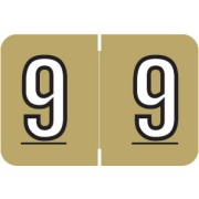 S-9221-9 - Barkley NBKM Compatible Numeric Labels, Number