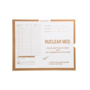 "S-92327 - Nuclear Medicine, Manila #134 - Category Insert Jackets, System II, Open End - 14-1/4"" x 17-1/2"" (Carton of 250)"