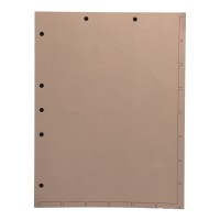 Chart Divider Sheets for Stick-On Tabs, Letter Size, Manila (Box of 250)