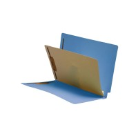 Blue End Tab Classification folder with 1 divider