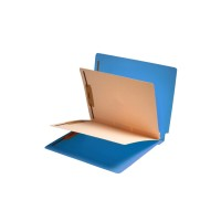 Lavender End Tab Classification folder with 2 dividers