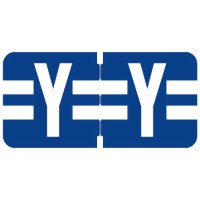 "Tab 1278 Compatible Alpha Labels, Letter ""Y"", Vinyl Stock, 1/2"" X 1"" Individual Letters - Ro..."