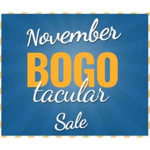 November BOGOtacular Sale