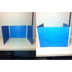 Study Boards, Blue (Pkg of 10)