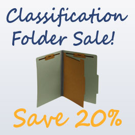 Classification Folder Sale