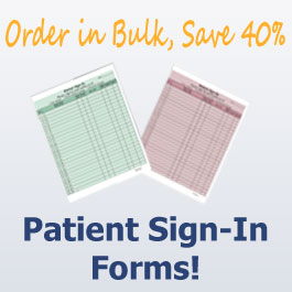 Patient Sign-In Forms Sale